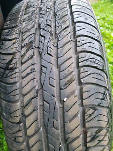 Used tires.