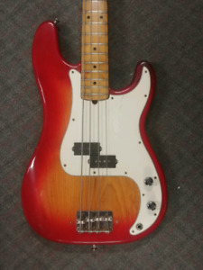 1979 Fender Precision Bass Sienna Burst
