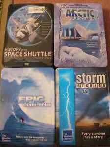 COLLECTOR TINS OF DVD DOCUMENTARIES