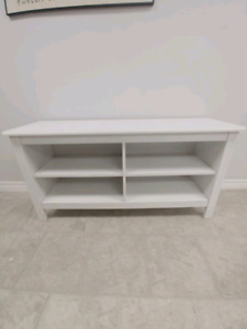 White TV stand or Coffee or Entrance Table.