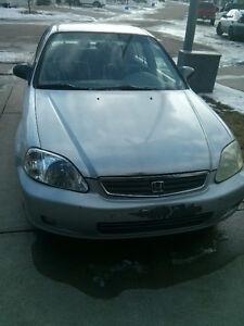 2001 Honda Civic Sedan Rebuilt status