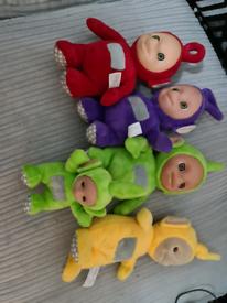 Teletubbies talking plush toys