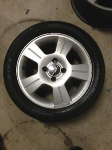 """Four Ford Alloy Rims 4x108mm - 16"""""""