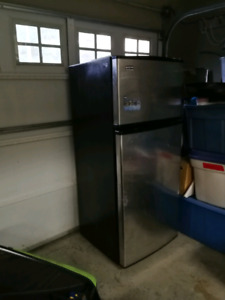 Stainless, Whirpool Fridge, 17.6 cu. ft. Price to sell