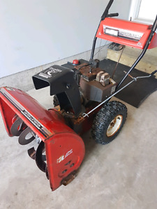 "8hp mastercraft snowblower 26""cut"