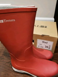 Tretorn Rubber Boots (Size 6)