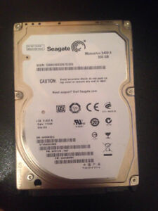 Seagate Hard Drive 500GB