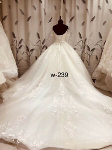 Beautiful wedding dresses available at Mead Bridal