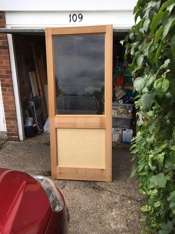 External Wood Door