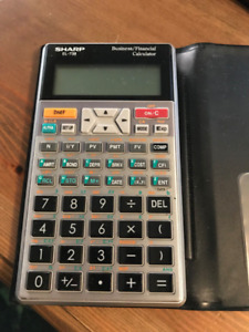 Calculatrice / Calculator financiere SHARP EL - 738