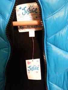 NWT Justice puffer jacket fleece lined size XL girls Kitchener / Waterloo Kitchener Area image 2