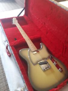 Fender Telecaster, CIJ, rare Antigua finish, w/custom case
