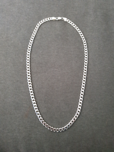 Michael Hill 925 Sterling Silver Curb Link Chain 55cm×7mm
