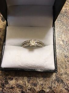 Matching Wedding and Engagement Ring