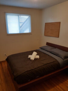 FURNISHED 2 BED BASEMENT Malton MississaugaLocated on Monica Dr