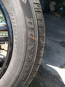Selling summer tires on rims size 275/55r20 Kingston Kingston Area image 3