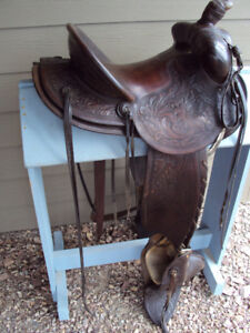 Western Saddle ATTENTION COLLECTORS!  Hamley formfitter