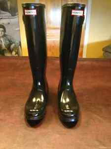 HUNTER Rain Boots - Original Tall Gloss