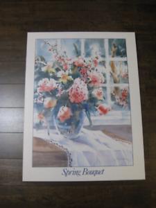 Cadre vase de fleurs