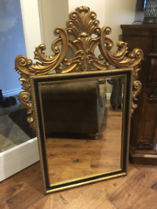 Beautiful Gold Ornate Regal Mirror from Bombay Co.