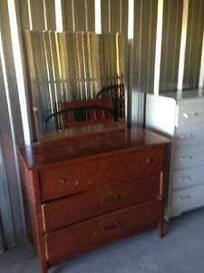 Vintage Dresser with a Mirror for SALe