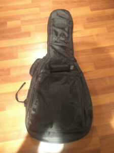 Gig bag for acoustic or electric guitar
