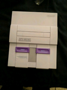 Mint super nintendo console only tested