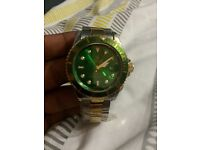 ROLEX SUBMARINER GREEN AND GOLD BRAND NEW SAMSUNG IPHONE