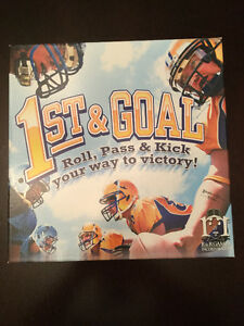 1st & Goal Boardgame (football game) with 3 expansions