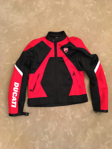 Ducati Summer 2 Textile Mesh Riding Jacket  Men Size: L