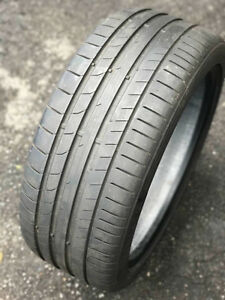 4 Continental 235/40 ZR18 95Y Summer tire for sale.