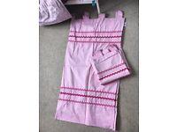 Next Pink Girls Curtains