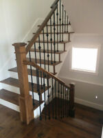 CUSTOM STAIRCASE , CUSTOM RAILINGS and GUARDS