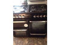 Flavel Range cooker black cookers