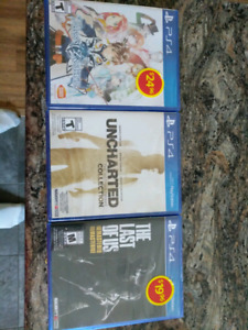 New PS4 games still sealed