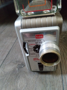 Vintage Kodak Brownie 8mm Movie Camera Model 2