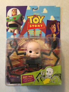 """TOY STORY """"Baby Face"""" Action Figure (1996)(MIP)"""