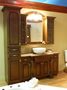 Vanité de salle de bains NEUVE
