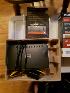 D-Link Wireless Router Works Great $15.00