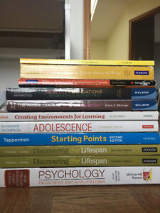 ECE textbooks (Humber & Guelph-Humber)