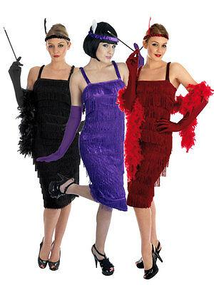 Déguisement Femme Garçonne Charleston Années 20 Tenue Costume 1920 Gangster Moll