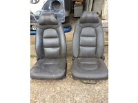 Saab leather heated seats
