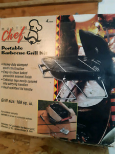 Master Chef Portable Barbeque Grill Kit