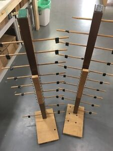 Home made bobbin rack for section beaming of loom Peterborough Peterborough Area image 3