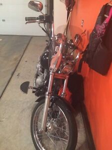 2002 Harley soft tail for sale, would trade for pull behind rv