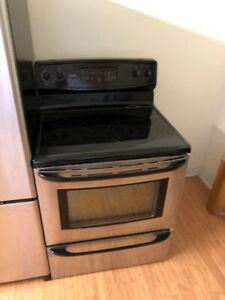"""Kenmore stainless steel 30"""" electric stove fan oven freestanding"""