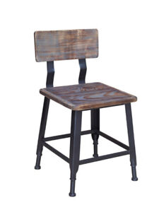 RESTAURANT INDUSTRIAL METAL BAR STOOL DINING CHAIR