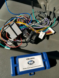 Pac module for can bus sterio head unit replacement