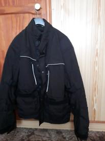 Motorbike jacket black