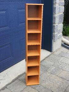 Upright Shelf for CDs